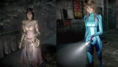 Zelda and Samus costumes that replaced removed costumes